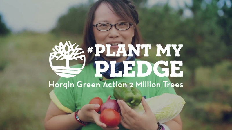 Plant My Pledge #7 Molly Gong - Timberland Horqin Desert Reforestation Project-HD