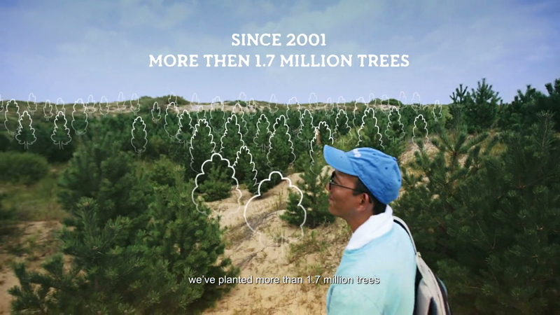 Timberland - The Horqin Desert Reforestation Project 2014-HD-3