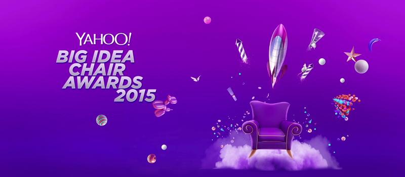 Yahoo Big Idea Chair Award 2015